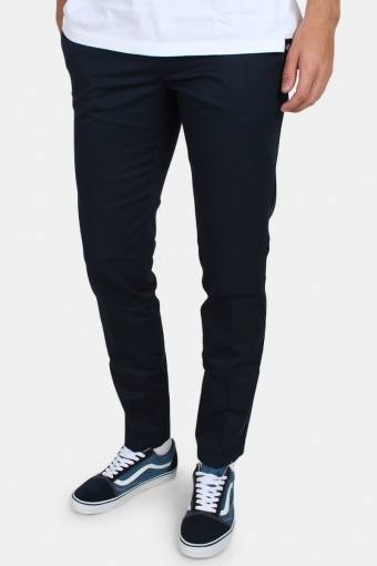 Work Pants Slim Fit Dark Navy