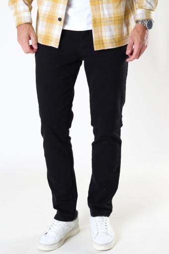 Brody Twill 5-pocket pants Black
