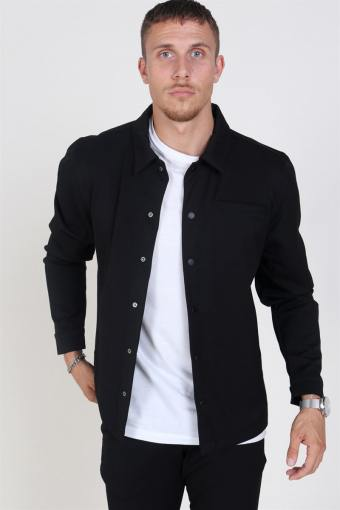 Brenti Overshirt Black