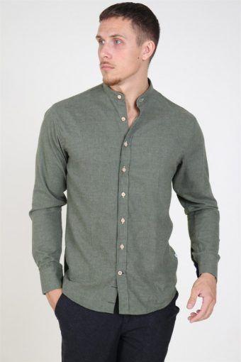 Dean Henley Shirt Army