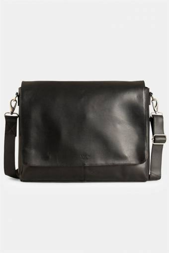 "Clean Large Messenger 13"" Black"