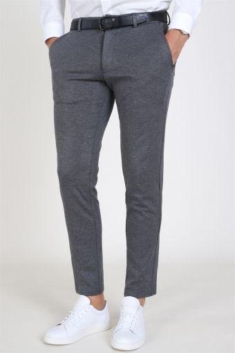 Marco Phil Jersey Pants Grey Melange