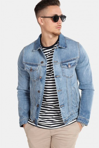 Jack & Jones Alvin Denim Jacket SA 002 Noos Blue Denim