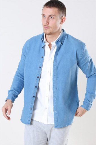 Johan Denim Shirt Light Blue