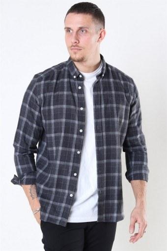 Clean Cut Sälen Flannel 3 Shirt Antrasit
