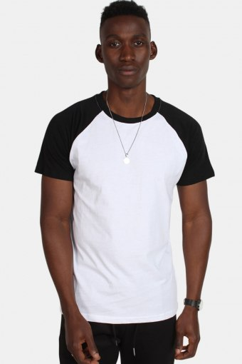 Tb639 T-shirt White/Black