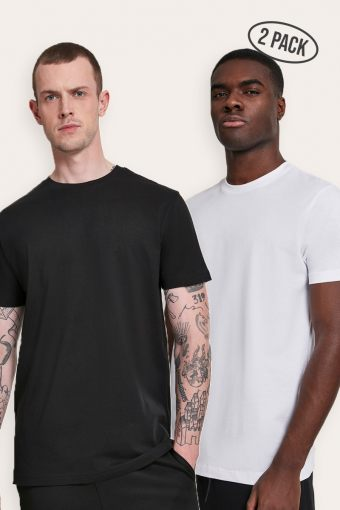 Basic Tee 2-Pack Black/White
