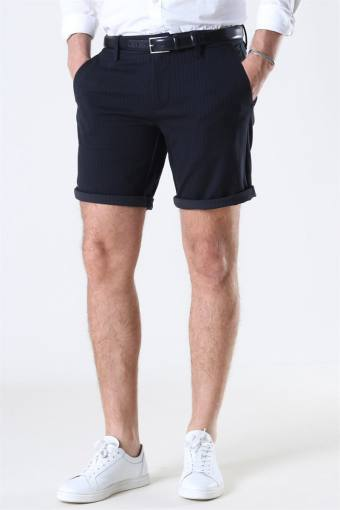Mark Shorts Stripe GW Black