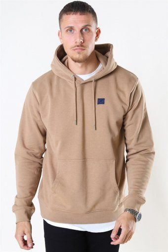 Clean Cut Basic Organic Hoodie Warm Sand