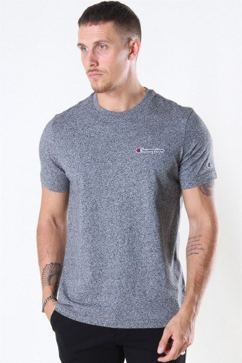 Crewneck T-Shirt Dark Grey Melange