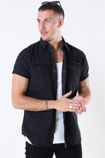 Sheridan Shirt S/S Black Denim