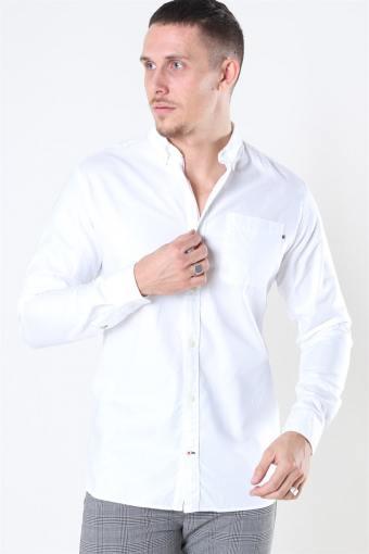 Classic Soft Oxford Shirt LS White