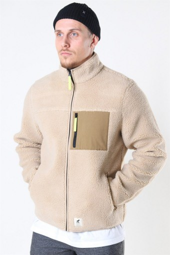 Hugh Fleece Jakke Off White
