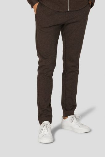 Milano Jersey Pants Brown Melangè