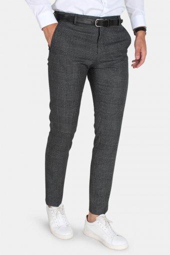 One-MyLo Prince Pants Grey Check