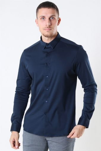 Mos Mosh Marco Jersey Shirt Navy