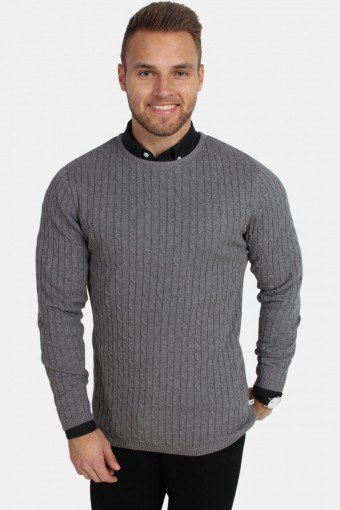 Cable Knit Anthracite