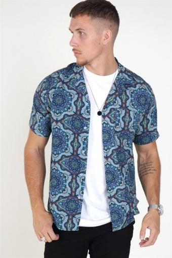 Psychedelique Shirt Placid Blue