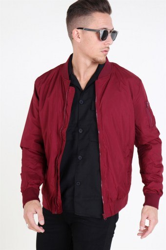 Tb1258 Jacket Burgundy