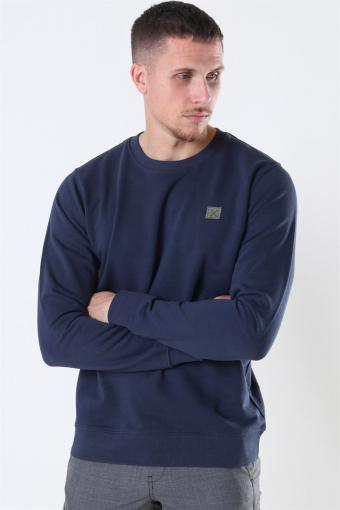 Clean Cut Basic Organic Crewneck Navy