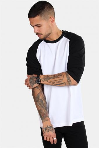 Raglan Tb366 White/Black