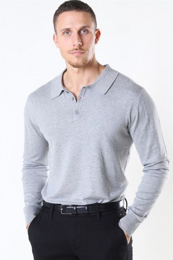 Acheletta Polo Neuloa Light Grey Mix