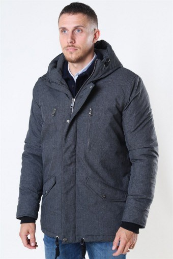 Anders Parka Takki Charcoal Mix