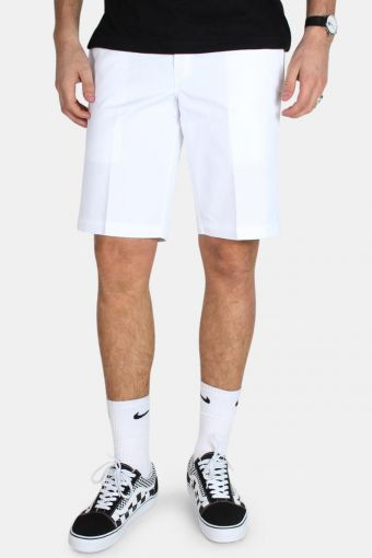 Slim Stgt WK Shorts White