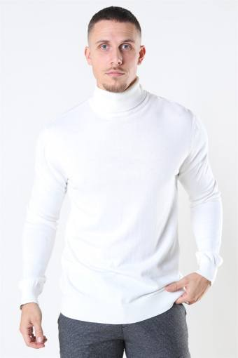 Rollneck Strik Off White