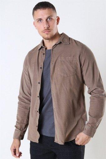 Jack & Jones Kendrick LS Shirt Sepia Tint