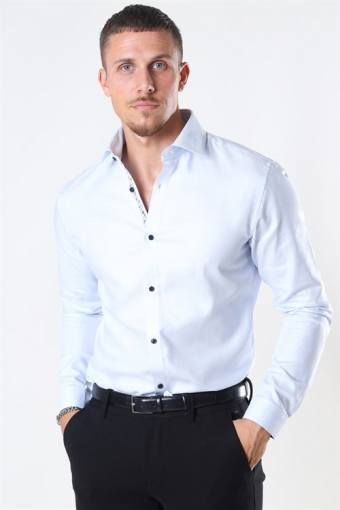 Viggo Dobby Shirt White