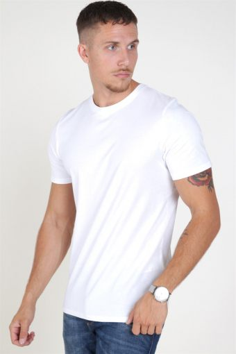 Jack & Jones Organic Basic Tee SS O-Neck Noos White