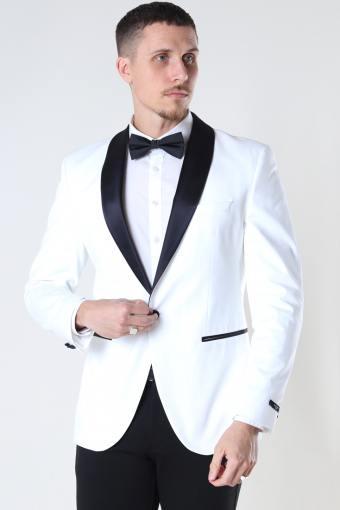 JPRBLAWHITE CONTRAST TUX BLAZER White