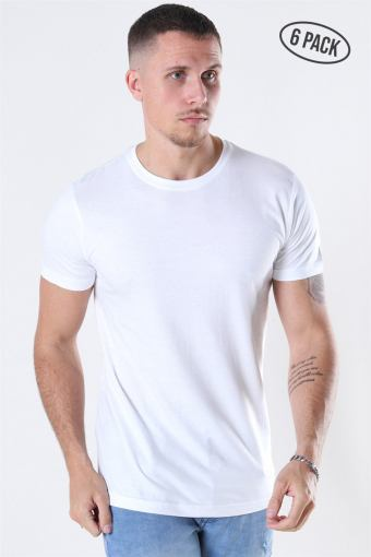 Cam T-shirt 6-Pack White