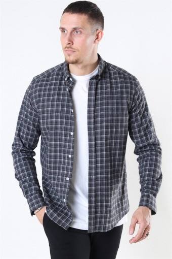 Clean Cut Sälen Flannel 2 Shirt Antrasit