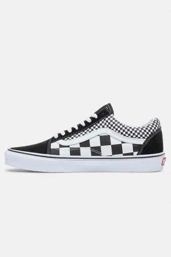 Old Shoeol Mix Checker Sneakers Black/True