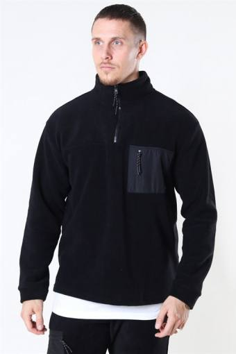 Frinck Fleece Zip Black