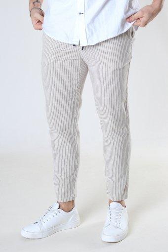 ONSLINUS LIFE CROP TAP PANT GW 9199 Raw Cotton