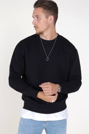 Soft Sweatshirts Crew Neck Black