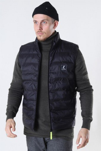 Duncan Recycled Vest Black
