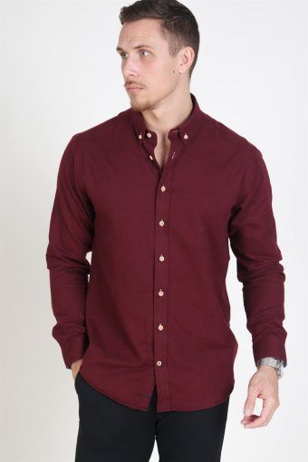 Johan Diego Shirt Bordeaux