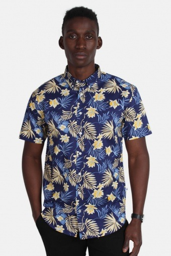 Johan Exotic S/S Shirt Gold fusion