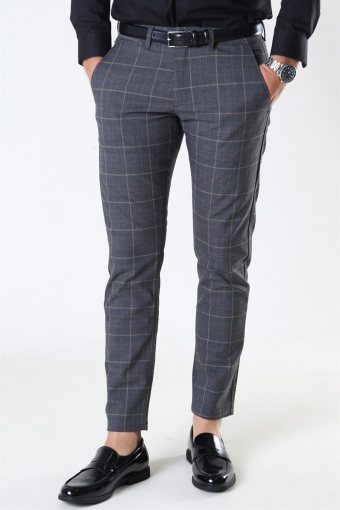 Paul Nili Check Pant Brown Check