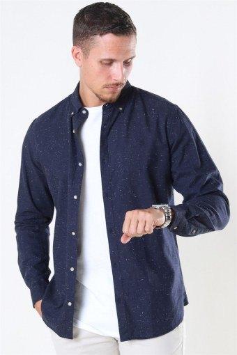 Blalogo Autumn Shirt L/S Navy Blazer