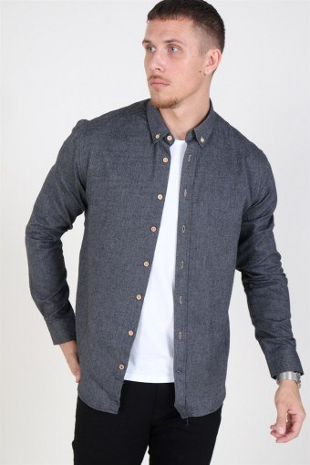 Johan Diego Shirt Dark Grey