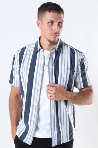 Stephan Hoyos Shirt Navy/White