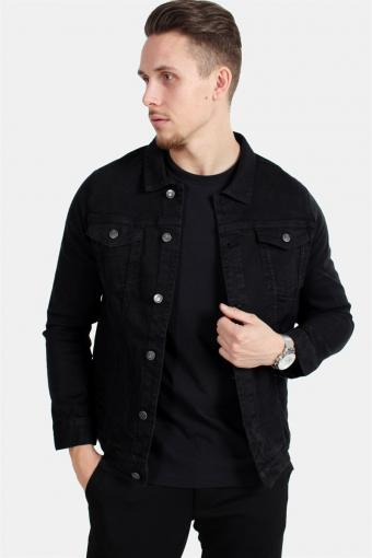 Kash Denim Jacket Black