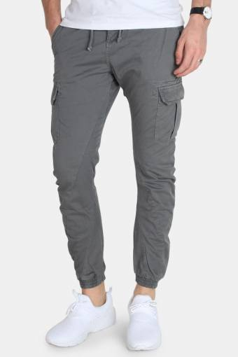 TB1268 Cargo Jogging Pants Dark Grey