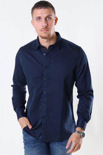 Clean Cut Maxime Shirt L/S Navy