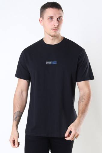 Trope Split Tee Black